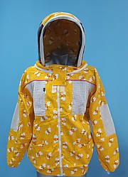 Куртка пчеловода, с вентиляцией, с евромаской, хлопок, Пакистан размер