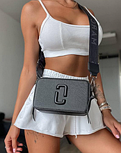 Жіноча сумка через плече Marc Jacobs Snapshot Total Black