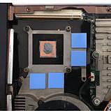 Термопрокладка 3K320-2015 2.0мм 10шт высечка 15х15мм синяя термоинтерфейс для ноутбука, фото 5