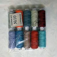 Нитки для ручного шитья цветные №10 оптом