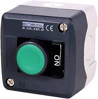 Кнопковий пост e.cs.stand.xal.d.174, стоп, кнопка-грибок, поворотне повернення