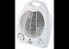 Тепловентилятор спиральный OASIS SB-20RС, кварцевый обогреватель, обогреватель керамический, дуйка,