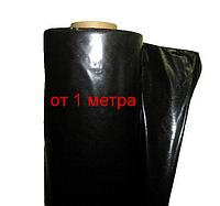 Пленка черная техническая в рулонах для тепло- и гидроизоляции, 3 м ширина, 120 мкм толщина