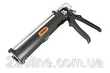 Пістолет для герметиків і хімічного анкера AKFIX металевий AKT-19Y