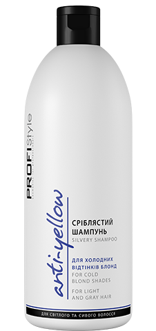 """Шампунь PROFIStyle """"Сріблястий"""" для холодних відтінків блонд (500мл)"""