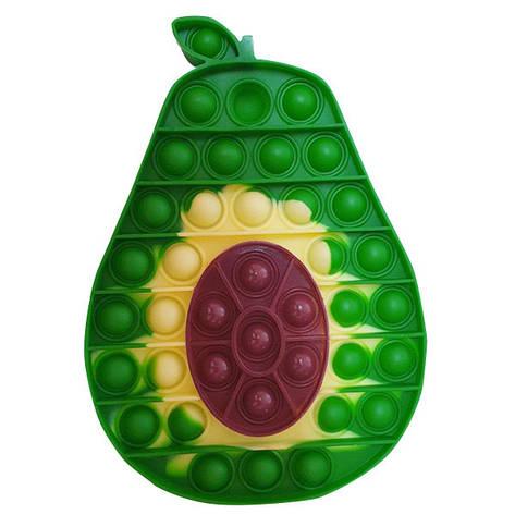 Опт Pop It Антистрес Іграшка - (Поп Іт - Попит - Popit) - Половинка Авокадо, фото 2
