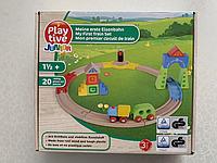 Деревянная железная дорога PlayTive Junior 20 элементов