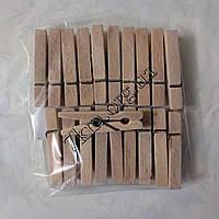 Прищепка бельевая деревянная оптом 7см