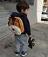 Рюкзак детский велюровый Лев на 3-5 лет в садик, фото 3