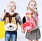 Рюкзак детский велюровый Лев на 3-5 лет в садик, фото 2