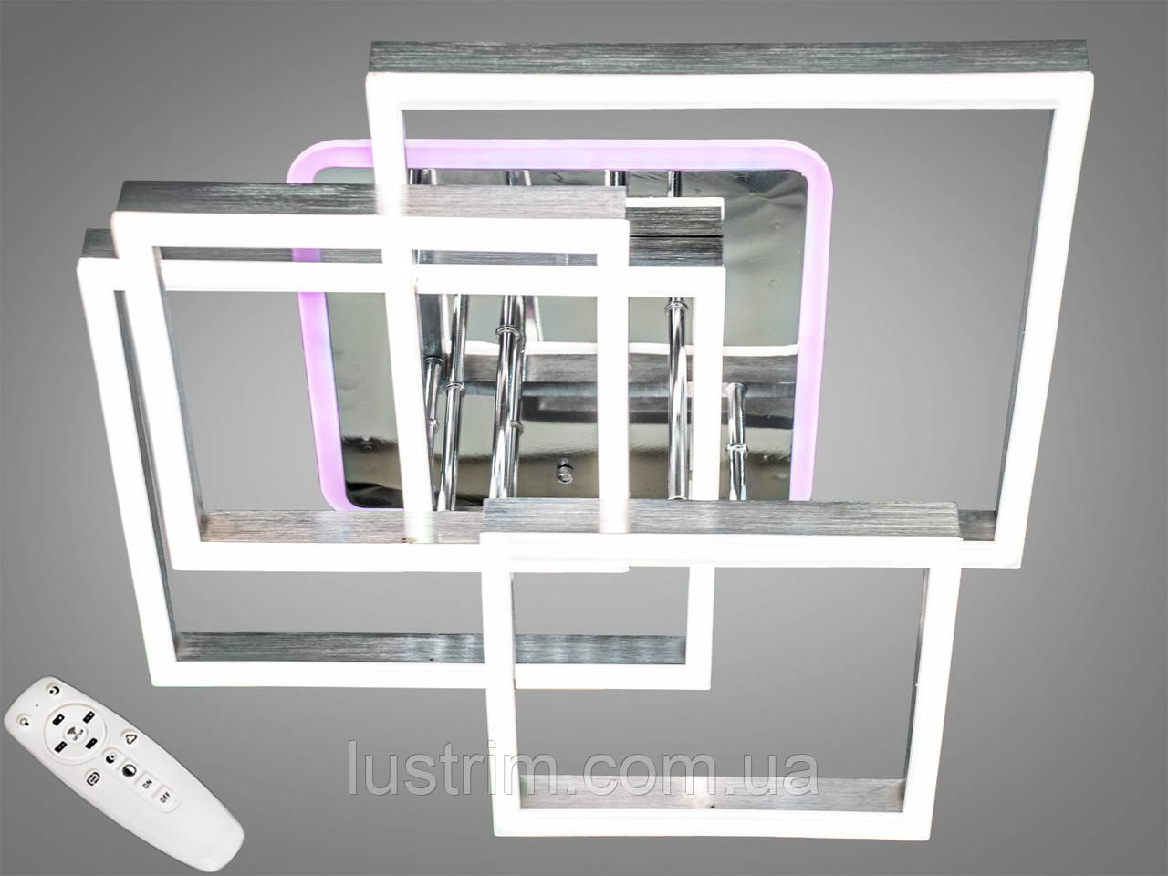 Потолочная светодиодная люстра с диммером 145W