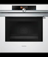"""Встраиваемый духовой шкаф с функцией  """"микроволновая печь"""" Siemens HM636GNW1, белый"""