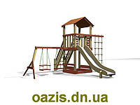 """Детская площадка """"Вежа-1"""" WS005-1с деревянной крышей, фото 1"""