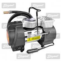 Компрессор автомобильный (насос) Elegant Force Maxi c манометром и сигнальным фонарем 100 095