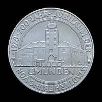 100 Шиллингов 1978 700 лет городу Гмунден, Австрия