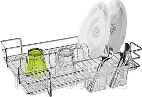 Полочка для посуды, ТМ PROFF, стальная, прямоугольная, (30 х 45 х 14 см)