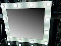 Зеркало для гримерных БЕЛОЕ  900х800 мм