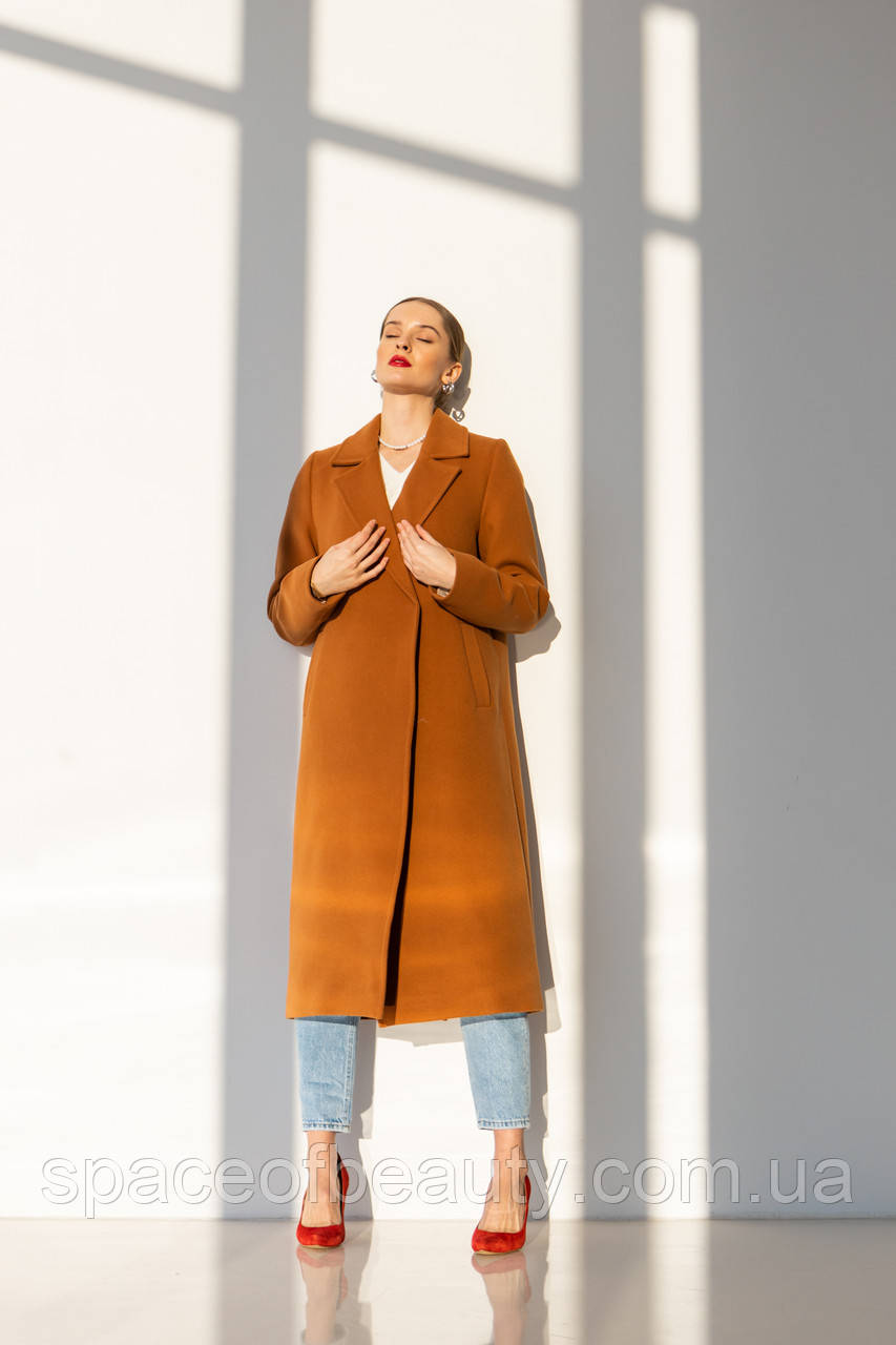 Пальто жіноче Stimma Мэллит 6685 Xs Шоколадний