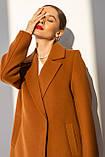 Пальто жіноче Stimma Мэллит 6685 Xs Шоколадний, фото 3