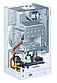 Газовий настінний одноконтурний котел VIESSMANN VITOPEND 100-W 34 кВт турбований, фото 3
