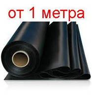 Пленка черная для ремонтных работ, защиты от влаги, царапин и ударов, 3 м ширина, 150 мкм толщина