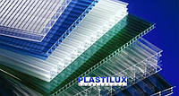 Поликарбонат сотовый PLASTILUX 8 мм (прозрачный)