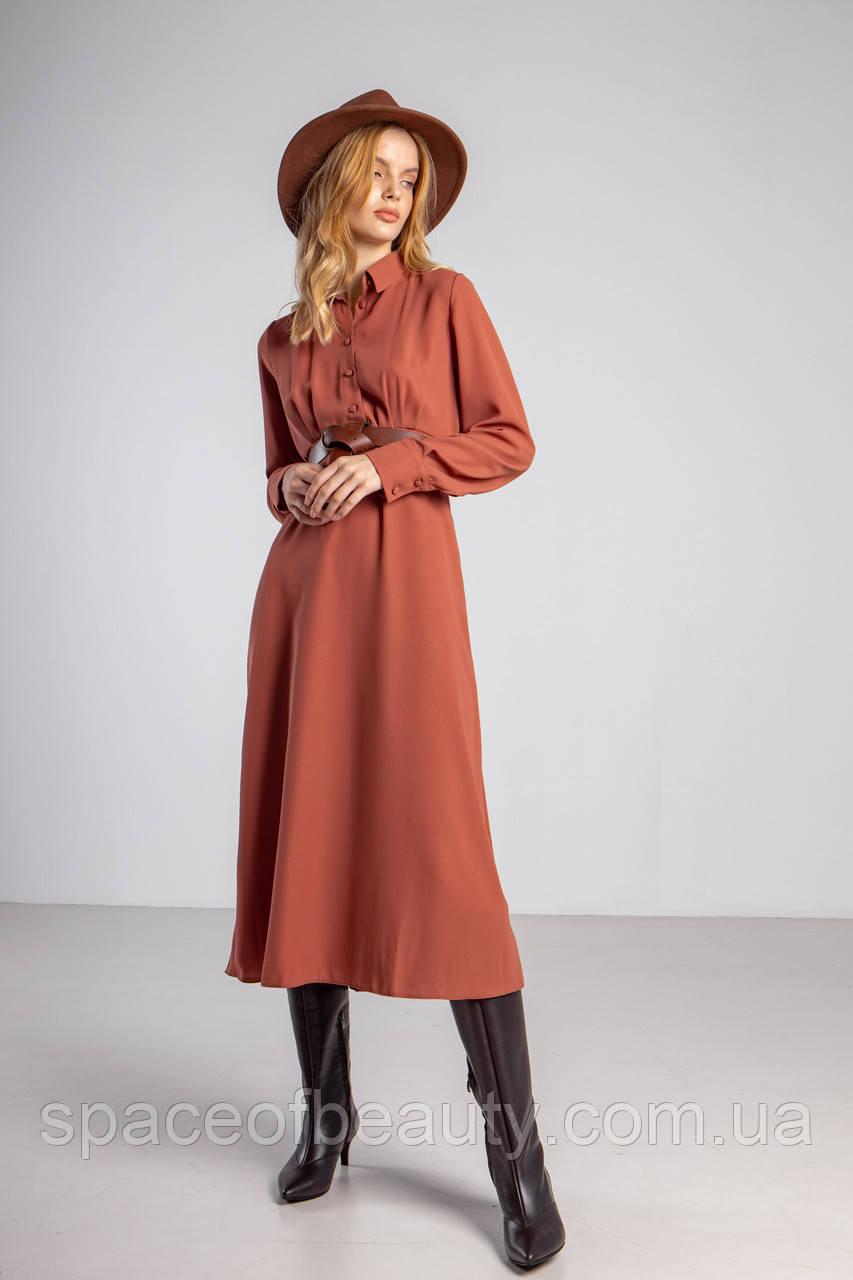 Женское платье Stimma Орната 5961 L Кирпичный