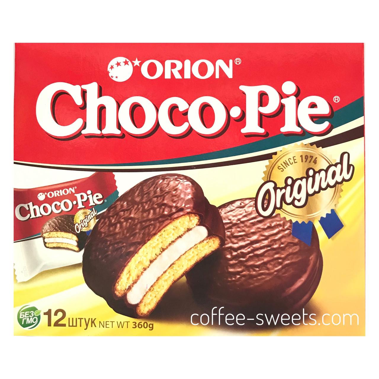 Choco Pie ORION Original ПЕЧИВО 360 г (12 х 30).