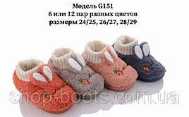 Детские тапочки оптом. 24-29 рр. Модель G151