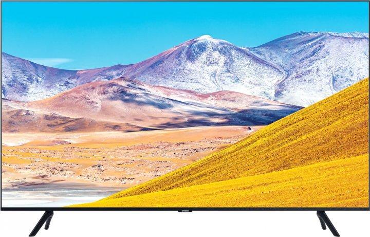 Телевізор 50 дюймів Samsung GU50TU8079 (4K, Smart, UHD Engine, HLG, HDR10+, Dolby Digital+ 20Вт, DVB-C/T2)