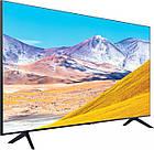 Телевізор 50 дюймів Samsung GU50TU8079 (4K, Smart, UHD Engine, HLG, HDR10+, Dolby Digital+ 20Вт, DVB-C/T2), фото 3
