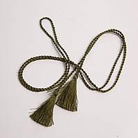 Пояс-шнурок шелковый