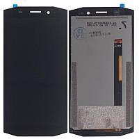 Дисплей для Blackview BV5800, Blackview BV5800 Pro, модуль (экран и сенсор) черный, оригинал
