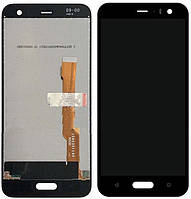 Дисплей для HTC U11 Life, модуль (екран і сенсор) чорний, оригінал