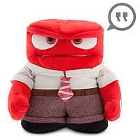 """Мягкая говорящая игрушка """" Гнев"""" Головоломка Anger Pixar Inside Out Disney"""