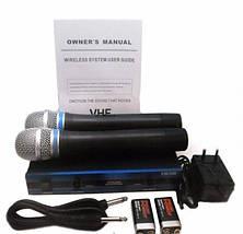 Радіосистема DM EW 100 2 мікрофони для караоке, фото 3