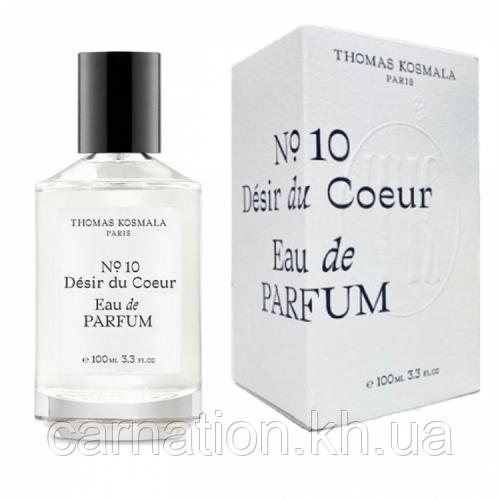 Парфюмированная вода Thomas Kosmala No 10 Desir Du Coeur  (Томас Космала) 100 мл
