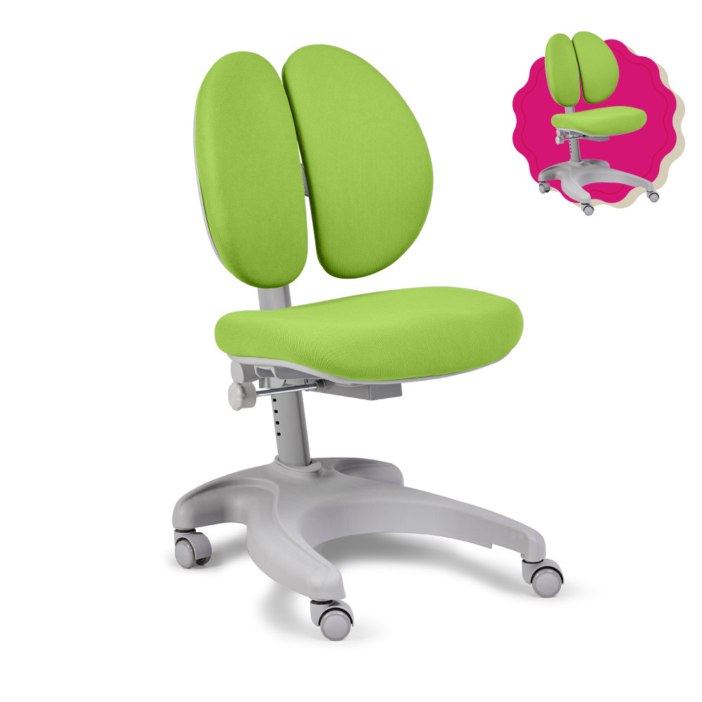 Дитяче ергономічне крісло FunDesk Solerte Green