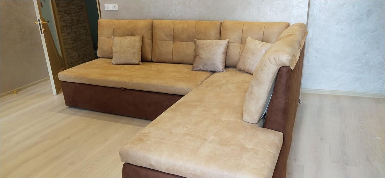 Виготовлення кутового дивана