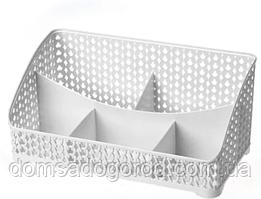 Подставка органайзер Ажур, настольная, прямоугольная 26*16*12