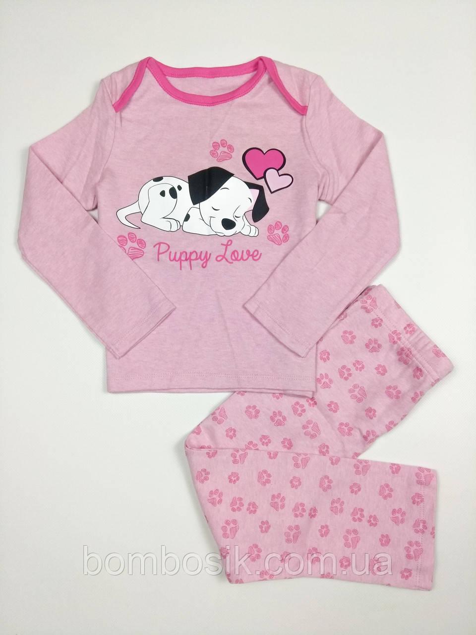 Пижама для девочки F&F,  2-3г (92-98см)