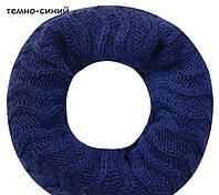 Красивый модный комплект шапка и шарф-снуд от Kamea - LUISA. Kamea, Зима, Польша, темно-синий