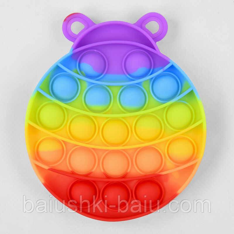 Гра антистрес Pop it (Поп іт) Simple Dimple (Сімпл Дімпл), 13 см, 19 пупырок, в кульку