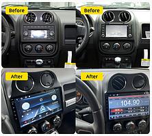 Штатная Android Магнитола на Jeep Compass 2009-2015 Model 3G-WiFi-solution + canbus (М-ДЖн-9-3Ж) 2/32 ГБ