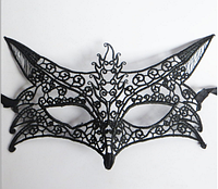 "Сексуальная маска на глаза кружевная на вечеринку, маскарад, танцы ""лисичка"" лиса"