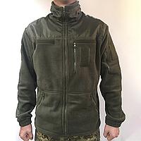 Тактична флісова кофта для військових Олива
