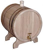 Жбан дубовый наливной для напитков 5 литров