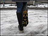Ледоступы на обувь 8 шипов (накладки на обувь) ледоступы купить Киев, фото 5