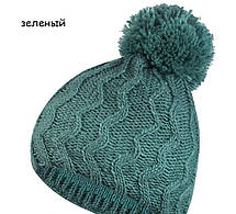 Красивая молодежная шапка с помпоном и снуд от Kamea -  Luisa., фото 2