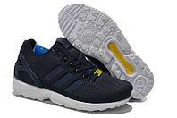 Кроссовки Adidas ZX Flux Navy\White